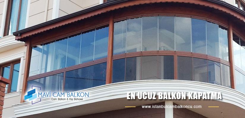 En ucuz balkon kapatma